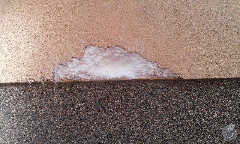 Oprava zateplení fasády domu: WP_20140905_002