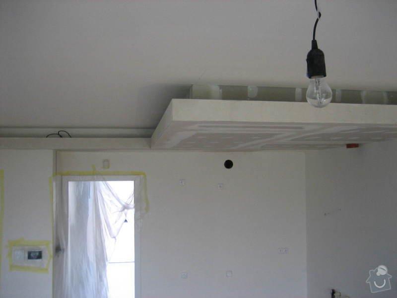 Podsvícený sádrokartonový podhled: IMG_0554