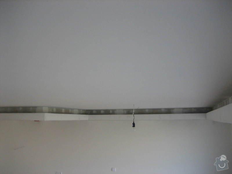 Podsvícený sádrokartonový podhled: IMG_0564