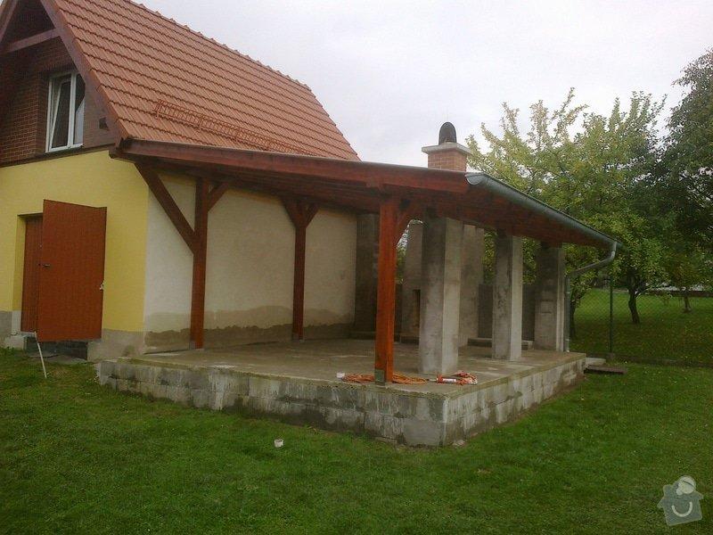 Stavba zahradní pergoly : 1