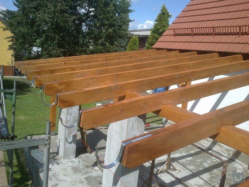 Stavba zahradní pergoly : 2