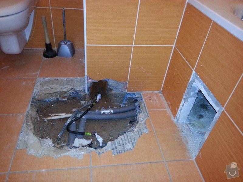 Zednické & obkladačské práce - koupelna: 20140905_155702
