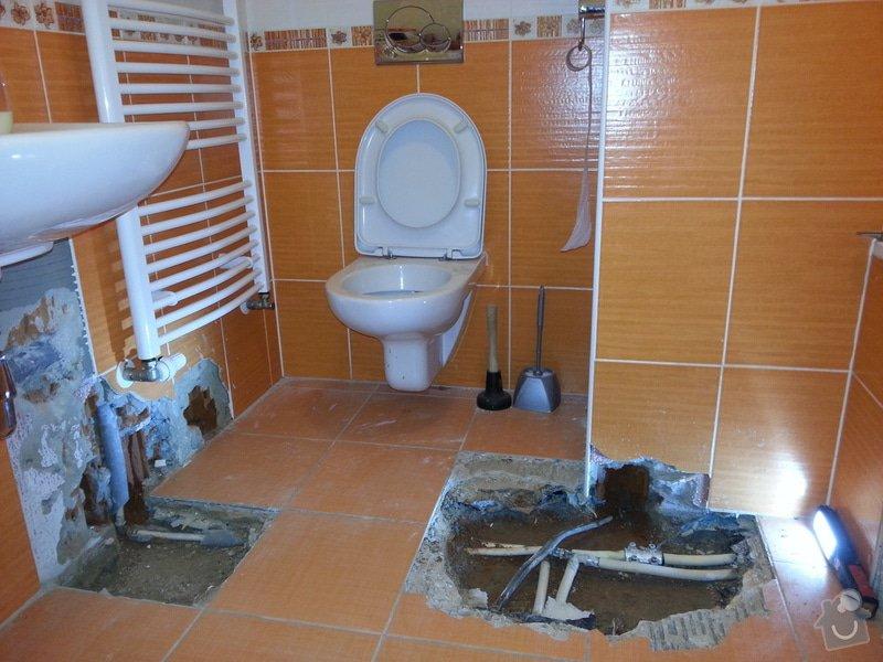 Zednické & obkladačské práce - koupelna: 20140905_144704