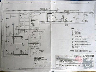 Elektro - vypletení rozvaděče, konzultace, revize (rekonstrukce RD): s2