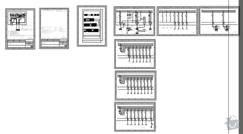 Elektro - vypletení rozvaděče, konzultace, revize (rekonstrukce RD): s1