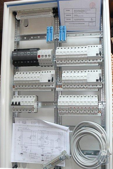 Elektro - vypletení rozvaděče, konzultace, revize (rekonstrukce RD): s3
