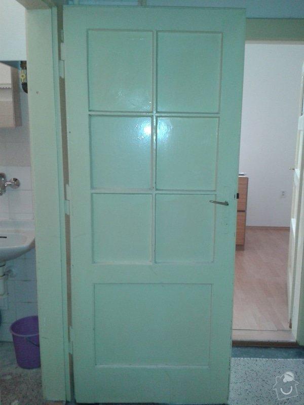 Renovace dřevěných dveří a futer: 20140907_145902