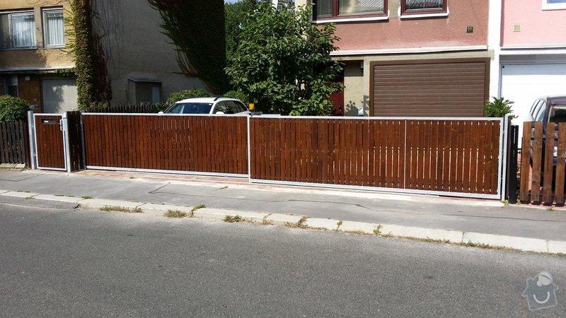 Stavba plotu, 2 automaticke brany : 2014-09-07_11.29.13