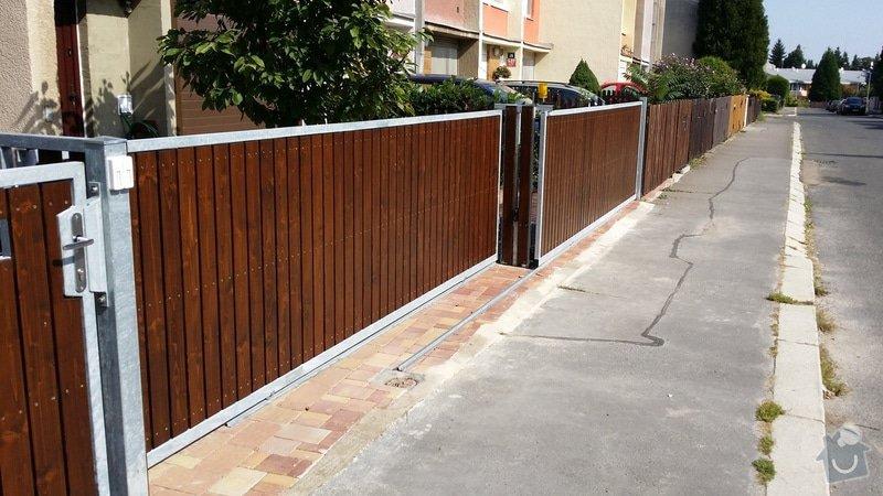 Stavba plotu, 2 automaticke brany : 2014-09-07_11.28.45