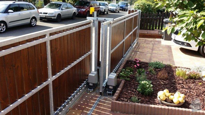 Stavba plotu, 2 automaticke brany : 2014-09-07_11.28.08