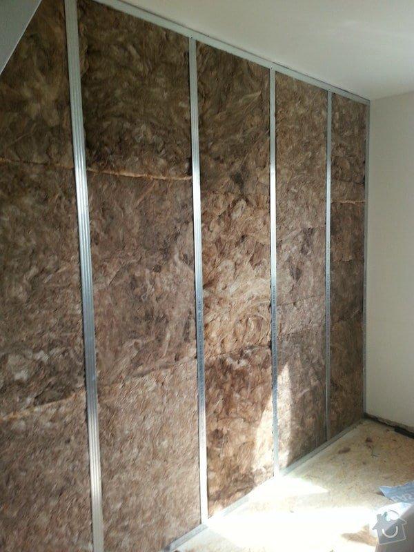 Odhlučnění stěny, nová podlaha, štukování: 20140827_103318