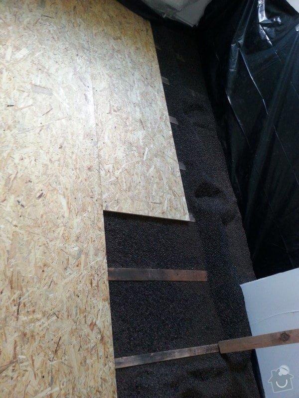 Odhlučnění stěny, nová podlaha, štukování: 20140828_141213