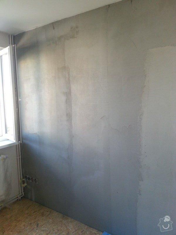 Odhlučnění stěny, nová podlaha, štukování: 20140828_154553