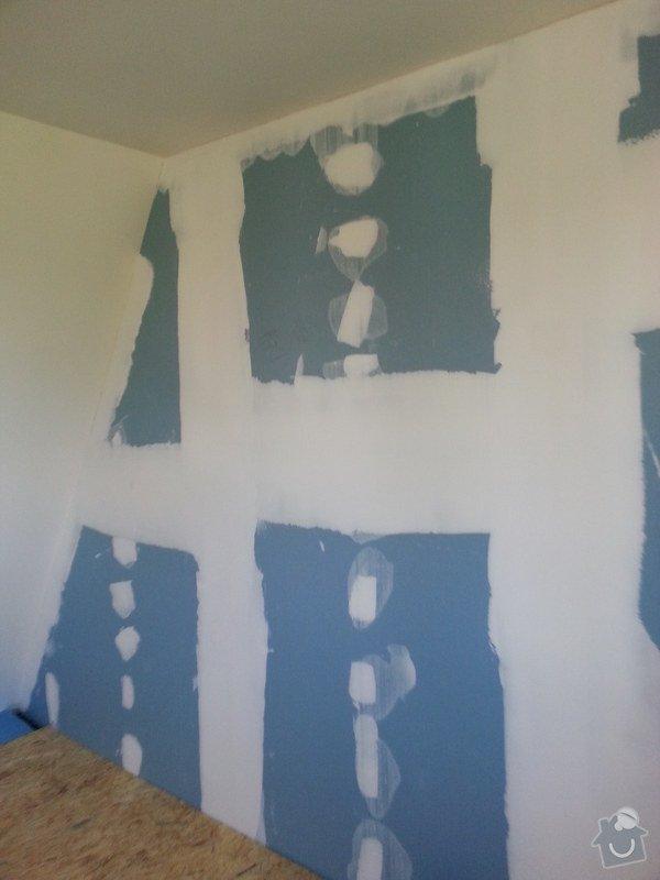 Odhlučnění stěny, nová podlaha, štukování: 20140828_154608