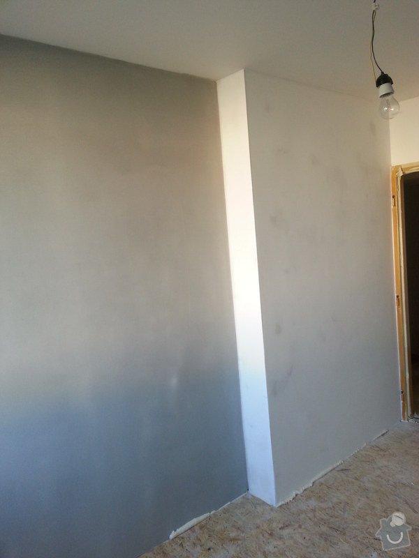 Odhlučnění stěny, nová podlaha, štukování: 20140828_175727