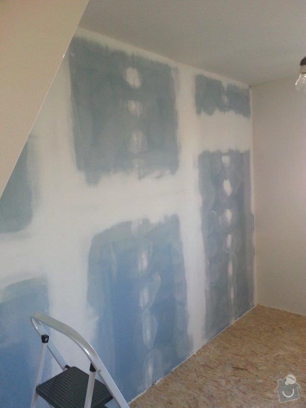 Odhlučnění stěny, nová podlaha, štukování: 20140828_175739