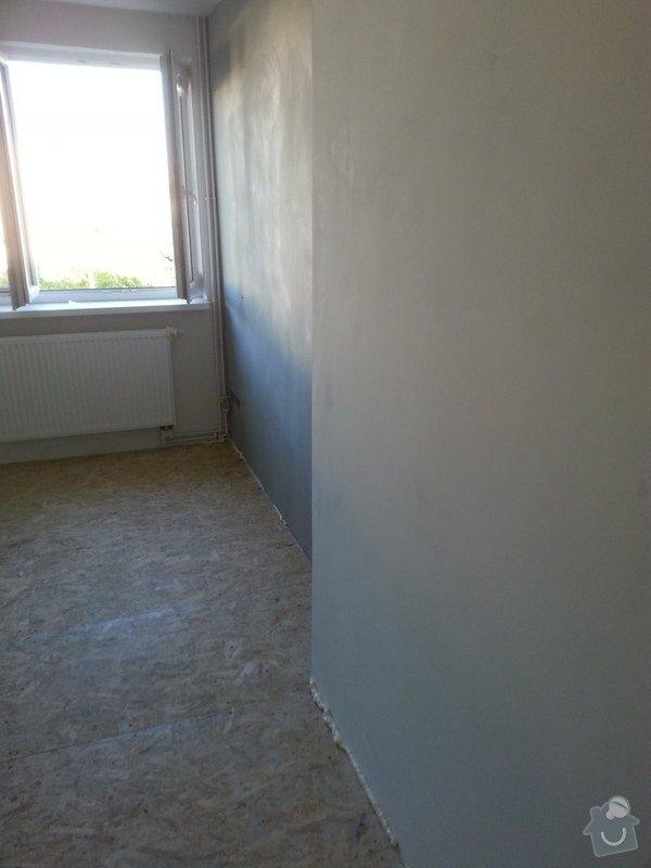 Odhlučnění stěny, nová podlaha, štukování: 20140828_175750