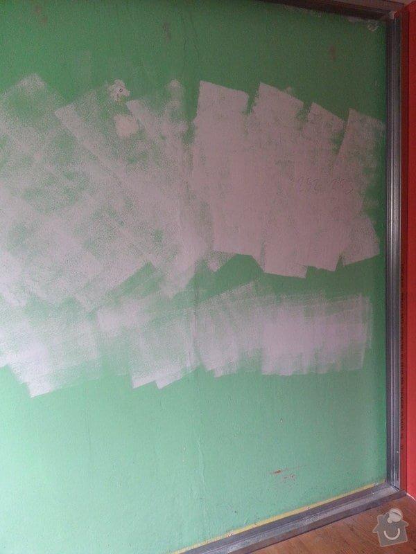 Odhlučnění 1 zdi v panelovém bytě v dětském pokoji: 20140821_102753