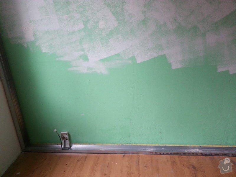 Odhlučnění 1 zdi v panelovém bytě v dětském pokoji: 20140821_102757