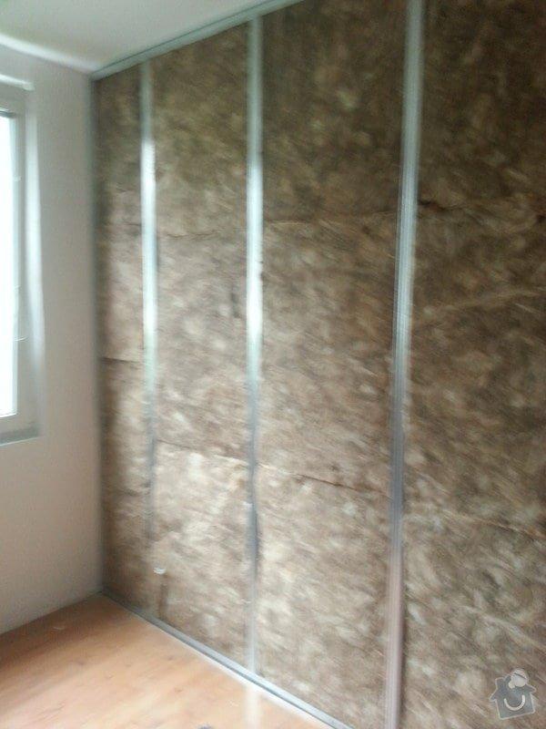 Odhlučnění 1 zdi v panelovém bytě v dětském pokoji: 20140821_104606