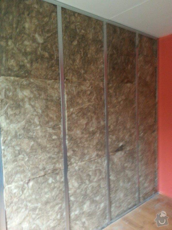 Odhlučnění 1 zdi v panelovém bytě v dětském pokoji: 20140821_104616