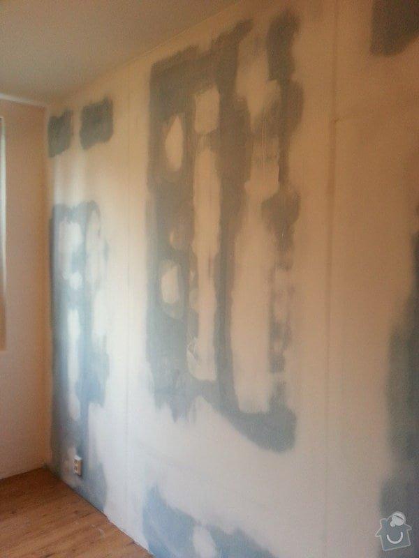 Odhlučnění 1 zdi v panelovém bytě v dětském pokoji: 20140822_090107