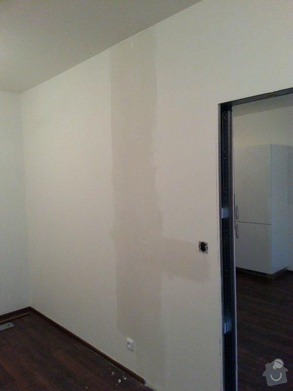 Montáž příčky s posuvnými dveřmi: 20140829_195451