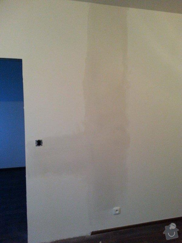 Montáž příčky s posuvnými dveřmi: 20140829_195500