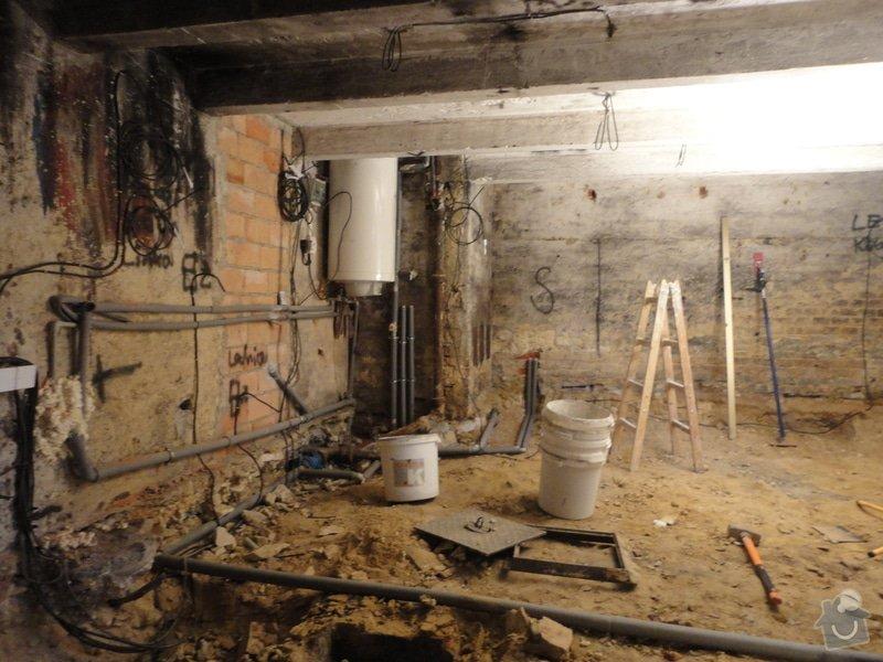 Rekonstrukce sklepu.: DSC01861