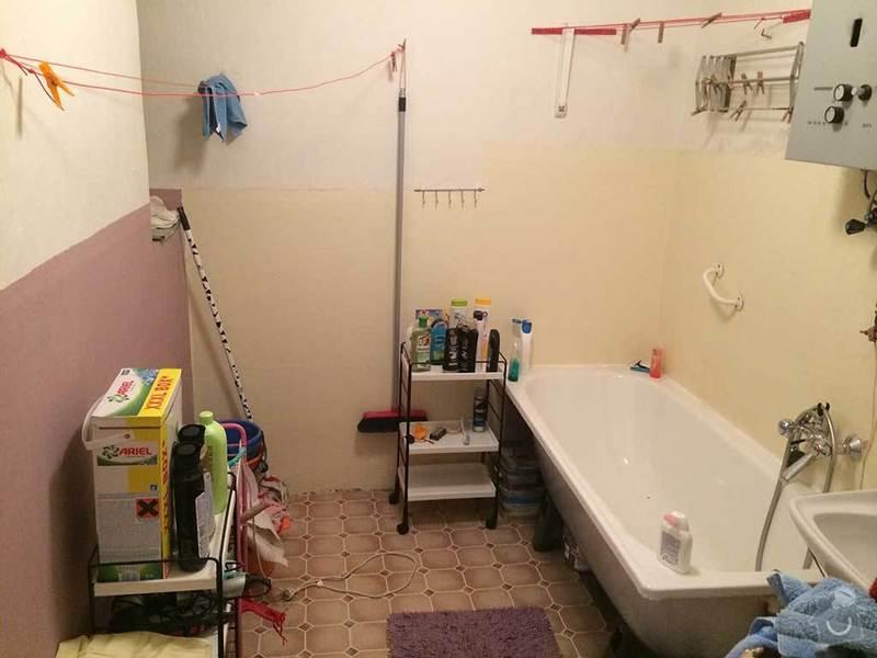 Rekonstrukce kopelny (zděný činžovní dům): koupelna1