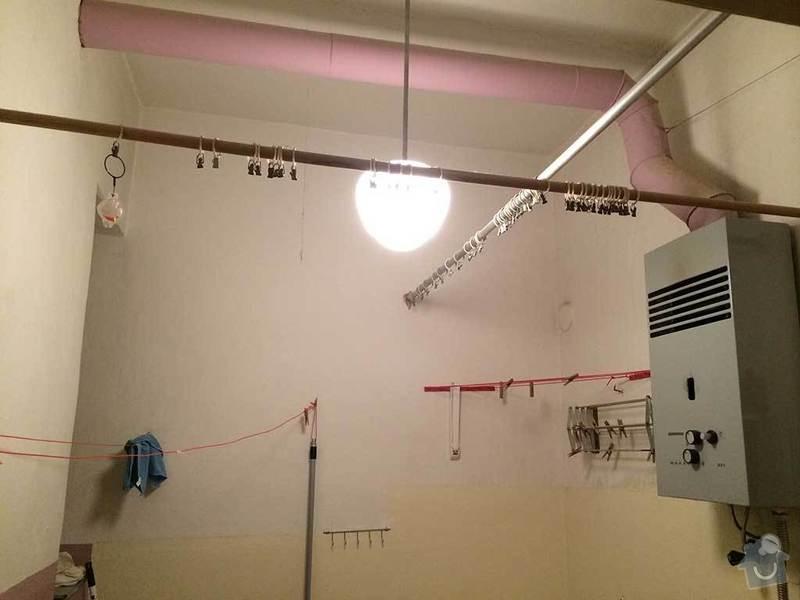 Rekonstrukce kopelny (zděný činžovní dům): koupelna2