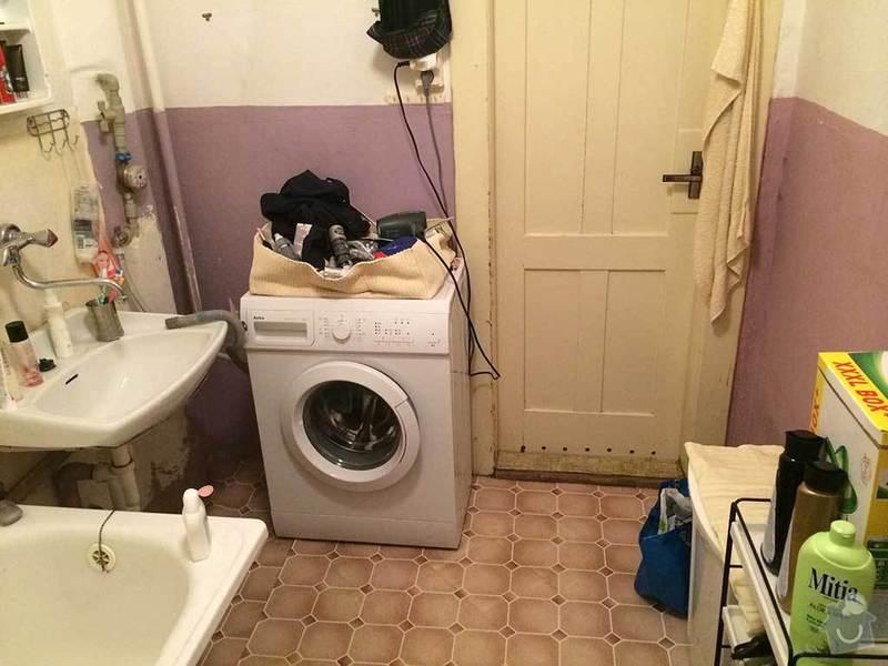 Rekonstrukce kopelny (zděný činžovní dům): koupelna3