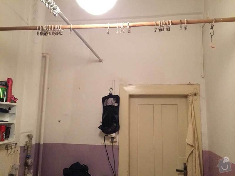 Rekonstrukce kopelny (zděný činžovní dům): koupelna4