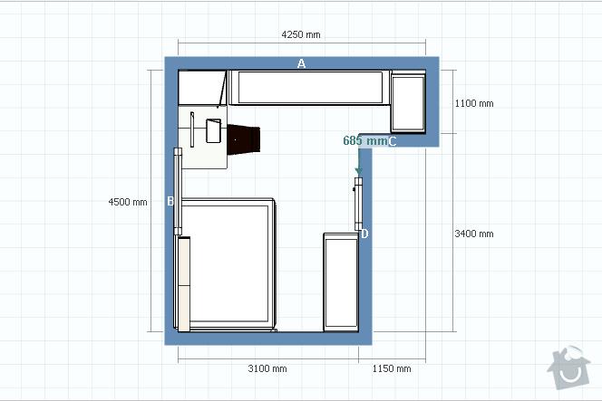 Výroba vestavných skříní, pracovního stolu a polic do ložnice: priloha_c.2