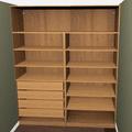 Vyroba vestavnych skrini pracovniho stolu a polic do loznice priloha c.3