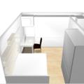Vyroba vestavnych skrini pracovniho stolu a polic do loznice priloha c.7