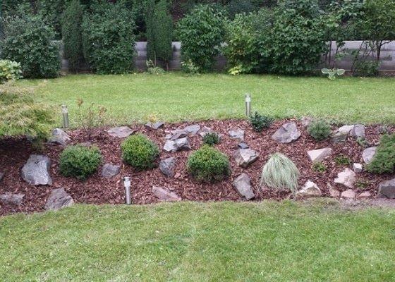 Zahradnické služby, prostřih keřů, úprava skalky, vysazení nových keřů