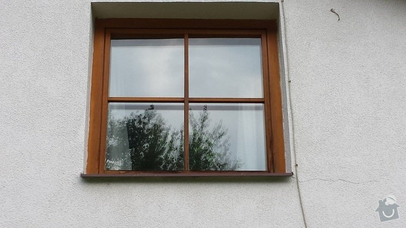 Lakýrnické práce, okno, vchodové dveře, francouzské dveře: 20140906_174710