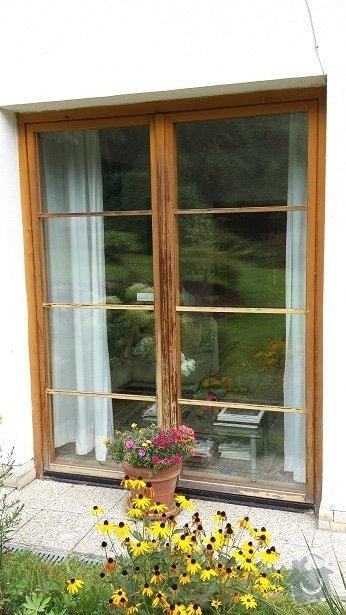 Lakýrnické práce, okno, vchodové dveře, francouzské dveře: 20140906_174731