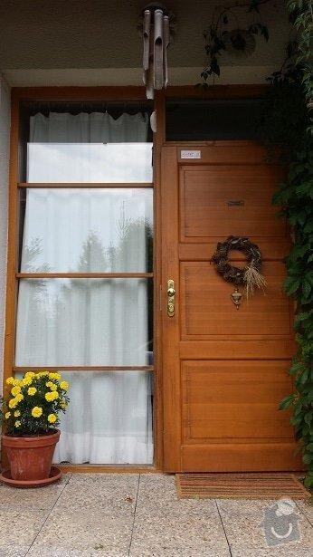 Lakýrnické práce, okno, vchodové dveře, francouzské dveře: 20140906_175202