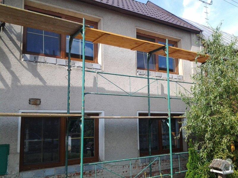 Zateplení domu: 20140825_113826