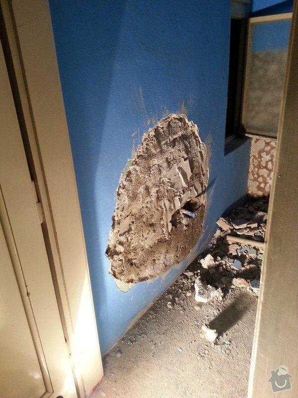 Kazetové podhledy // opravy stěn-štukování: 20140325_081004