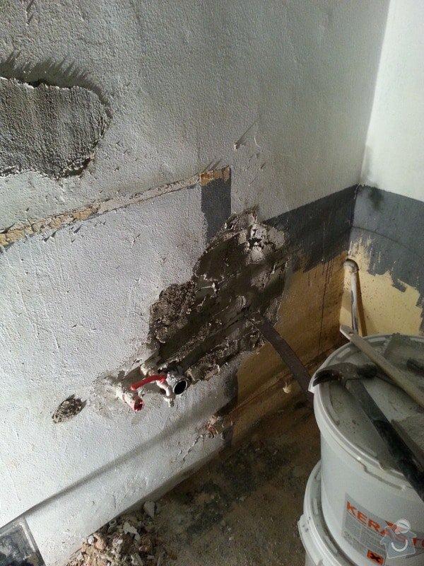 Kazetové podhledy // opravy stěn-štukování: 20140325_081008