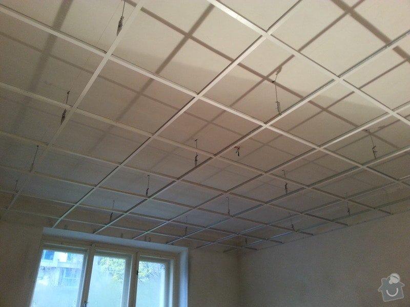 Kazetové podhledy // opravy stěn-štukování: 20140328_091906