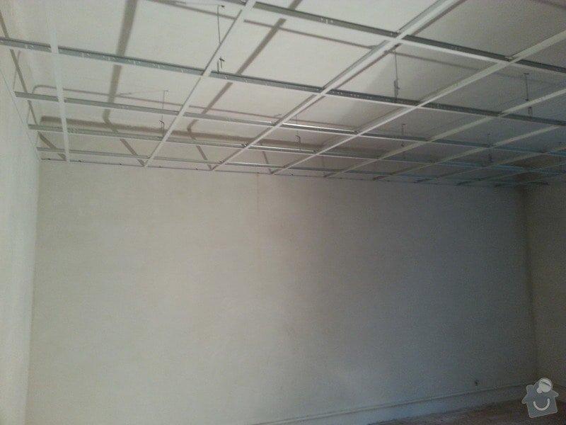 Kazetové podhledy // opravy stěn-štukování: 20140328_091924