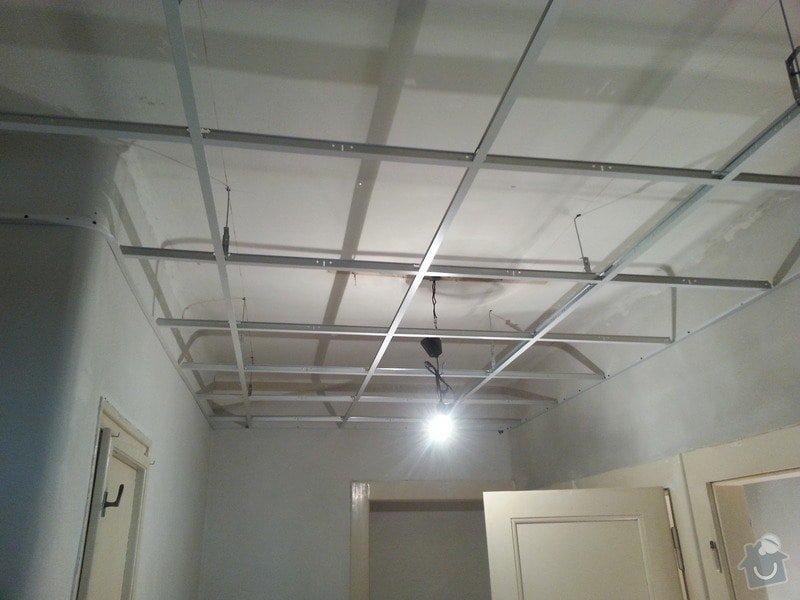 Kazetové podhledy // opravy stěn-štukování: 20140328_103721
