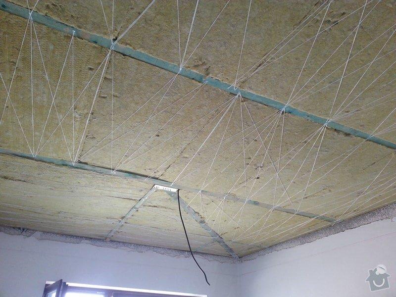 Sádrokarton - stropní podhledy: 20140617_111510