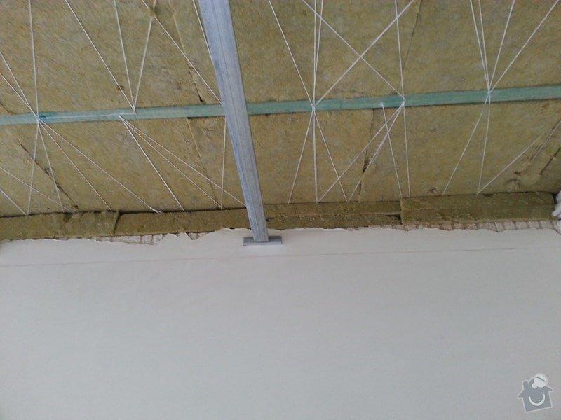 Sádrokarton - stropní podhledy: 20140617_164241