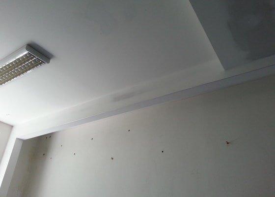 """Zhotovení """"stropního podhledu"""""""
