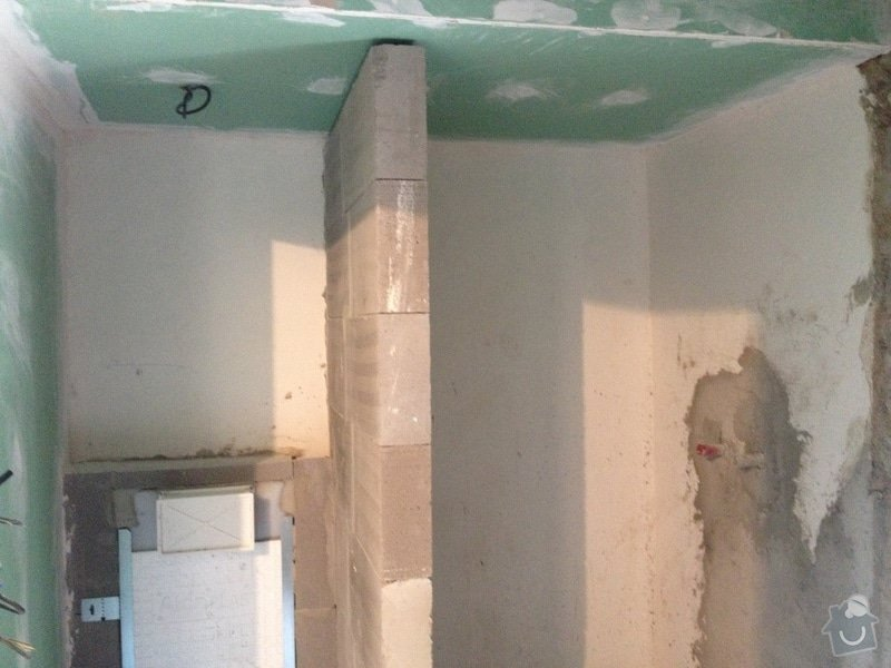 Oprava chalupy : koupelna